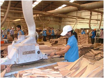 Ngành gỗ gỡ khó nguyên liệu đầu vào để về đích